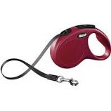 Flexi North America - Classic Small Tape Retractable Leash - Red - 16 Ft