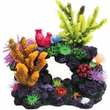 Poppy Pet - Coral Reef Formation - Multi - 8 X 5 X 8