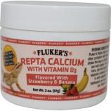 Flukers -Repta Calcium With D3 - Strawberry/Banana - 2 Oz