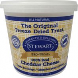 Stewarts Treats -Stewarts Freeze Dried Treats For Dogs - Cheddar Cheese - 20 Oz