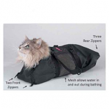 Top Performance - Cat Grooming Bag 17x9 Inch - Small
