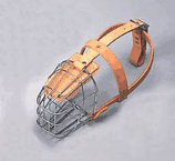 "Leather Brothers - 3/4"" Lea Wire Basket Muzzle - Medium"