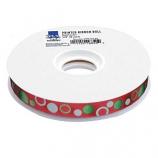 Top Performance - Circles 50-Yard Printed Ribbon Rolls