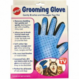 Ethical Dog - Spot Grooming Glove - Blue - 9 Inch