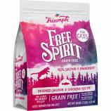 Triumph Pet Industries - Free Spirit Dry Cat Food - Salmon/Chickpea - 3 Lb