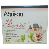 Aqueon Products - Glass -Princess Castle Betta Aquarium Kit - Pink / Purple - 0.5 Gallon