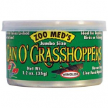 Zoo Med - Can O Grasshoppers - Jumbo - 1.2 oz