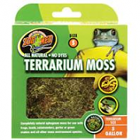 Zoo Med - Terrarium Moss - GREEN/BROWN 5 GALLON