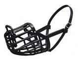 Leather Brothers - Italian Basket Muzzle - Size 4 - Black