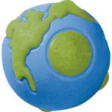 Planet Dog -Usa Globe Ball Floating Orbee Dog Toy - Mint - 3 Inch