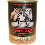 Replenish Pet  - Maximum Bully Canned Dog Food - Chicken / Beef - 13.2 Ounce