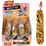 A&E Cage Company - A&E Treat Stick Small Animal Display - Vegetable -12 Piece
