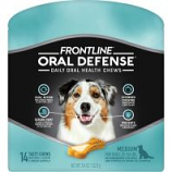 Petiq - Frontline Oral Defense Daily Oral Health Chews - Med/14 Count