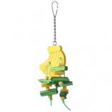 A&E Cage Company - Happy Beaks Banana Bird Toy - Small