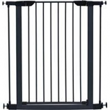Midwest Homes For Pets - Steel Glow Stripe Pet Gate - Graphite - 39 H X 29-38W