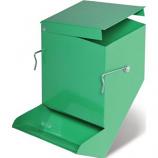 Prevue Pet Products - Metal Bin Feeder - Green -  Green
