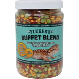 Flukers - Buffet Blend Juvenile Bearded Dragon - Veggie Variety - 9.9  oz