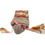 Worldwise - Cutie Mouse Mat Catnip Crinkle Mat - Grey