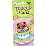 Fuzzu - Chipmunk Tea Cup Fluffs Series Catnip Toy - Tan - Medium