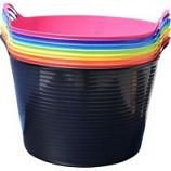 Tuff Stuff Products - Flex Tub Assortment - Assorted - 5 Qt/10 Pack