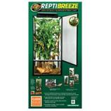 Zoo Med Laboratories - Reptibreeze Open Air Aluminum Screen Cage - Black - Extra Large