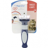 Four Paws Products - Tangle Remover No - Pull Rotating Pins For Cat - Blue