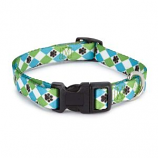 Casual Canine - Patterns Collar Argyle - 18-26Inch - Blue