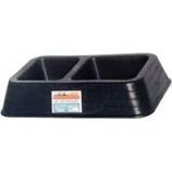 Tuff Stuff Products - Double Dish - Black - 3 Quart