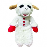 Multipet International - Lamb Chop Dog Toy - 13 Inch