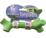Pet Qwerks -Barkbone Breath Chew Stick - Mint - Lrg