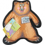 Fuzzu - Pierre The Bear Dog Toy Wild Woodies - Brown - Large