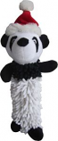 Iconic Pet Christmas - Panda Noodle Squeaky Dog Toy - 13 Inch