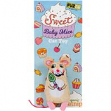 Fuzzu - Sweet Baby Mice Lolli Mouse Cat Toy - Multi  -  Medium