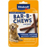 Vitakraft Pet - Bar-B-Chews Dog Treat - Chicken - 3 Pack