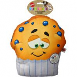 Ethical Dog -Fun Food Jumbo Muffin Plush Toy - Assorted - 11 Inch