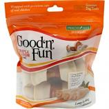 Salix - Healthy Hide Good N Fun Triple Flavor Bone - 4 Inch/3 Pack
