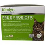 Tomlyn Products - Pre & Probiotic Water Soluble Powder For Cats - White - 30 Ct