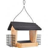Natures Way Bird Products - Hopper Feeder With Suet Cages - Cedar - 3 Quart Capacity