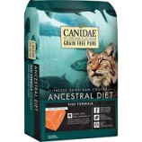 Canidae - Pure  - Ancestral Raw Coated Cat Dry Food - Fish - 2.5 Lb
