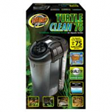 Zoo Med - Turtle Clean External Canister Filter - Black Up To 75 Gallon