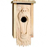 Welliver Outdoors - Bear Carved Bluebird House