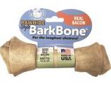 Pet Qwerks -Barkbone Rawhide Style Nylon Dog Chew - Bacon - Medium