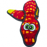 Petstages - Tough Seamz Snake 6 Squeakers - Red - Xlarge
