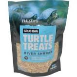 Flukers -Grub Bag Turtle Treat - Shrimp - 6 Oz