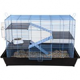 Ware Manufacturing  Bird / Small Animal - Critter Ware Mess Resistant Cage - Blue - 35 Inch