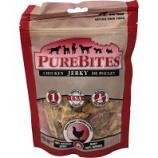Pure Treats - Purebites Jerky Dog Treat - Chicken - 5.5Oz