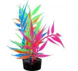 Blue Ribbon Pet Products - Color Burst Florals Needle Leaf Multi - Glow