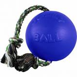 Horsemens Pride - Romp-N-Roll Ball - Blue - 8 Inch