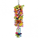 Prevue Pet Products - Calypso Creations Club Toy - Multi-Colored - 4.5X14 Inch