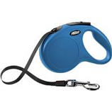 Flexi North America - Classic Large Tape Retractable Leash - Blue - Large 110 Lbs